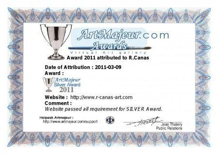 Artmajeur Sylver Award 2011