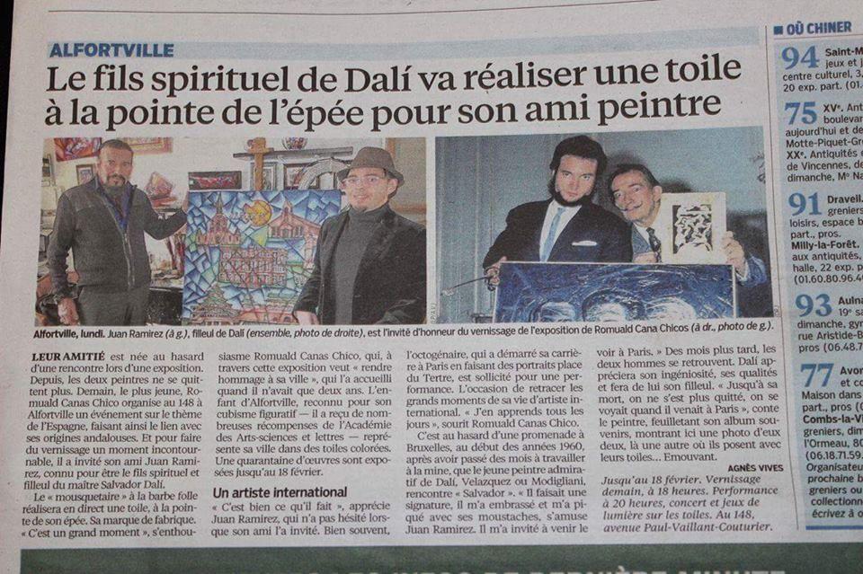 Article de presse Le Parisien 2016