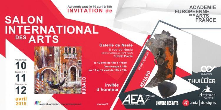 Salon International des Arts ,  Canas Chico , ,  Galerie Nesle ,  AEAF ,