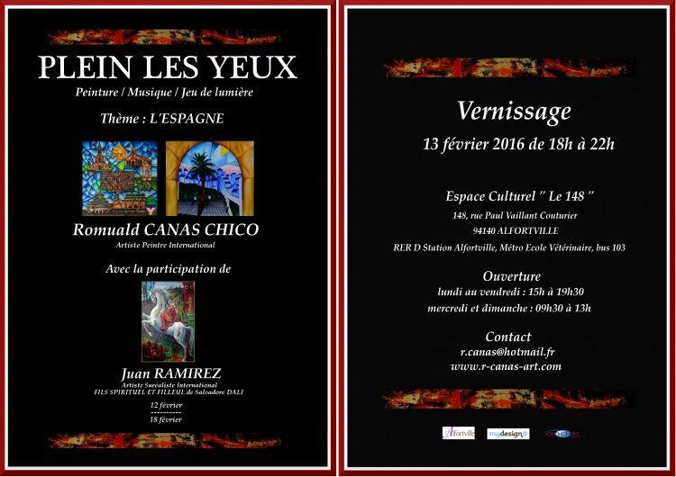 """Évènement Culturel ,  Espace Culturel """" Le 148 """" ,  Ramirez ,  Canas Chico ,  exposition ,  Alfortville ,"""