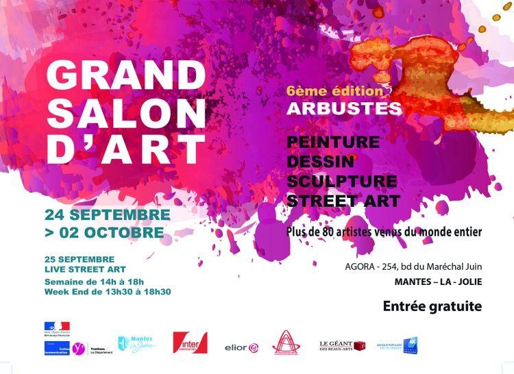 Mantes La Jolie,  Salon d'art,  Arbustes,  CANAS CHICO,