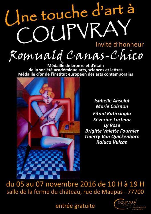Coupvray ,  Canas Chico ,  Salon d'art ,