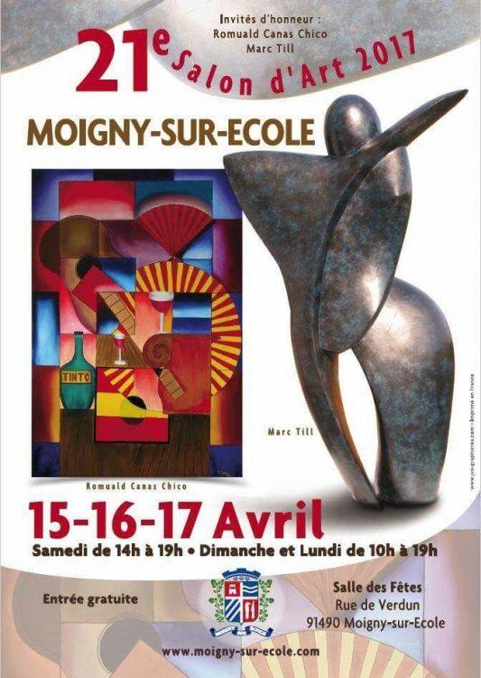 Expositions, Art, Artistes, Moigny-Sur-Ecole, Essonnes, 91, invité d'honneur, Canas Chico, salon d'art