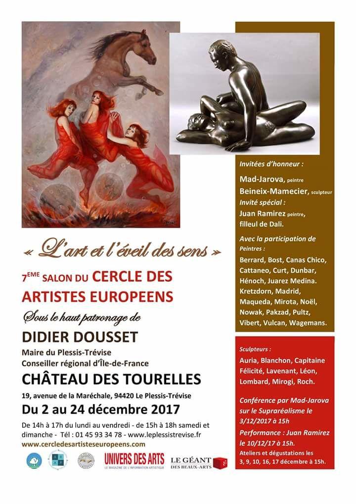 Exposition, ValdeMarne, chateaudestourelles, Art, RomualdCanasChico, salondart