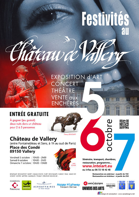 chateaudevallery, Vallery, Art, Ecposition, CanasChico